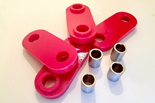 GNP Transmission Mount Bushings - Subaru 5 & 6-speed Transmissions