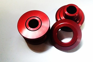GNP Billet Driveshaft Carrier Mount Bushings - Impreza, WRX, STi, Legacy, Forester, BRZ/FRS/86