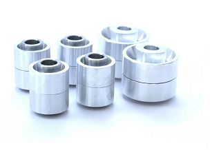 SPL Parts Rear Knuckle Monoball Bushings - (Z32/R32 w HICAS)
