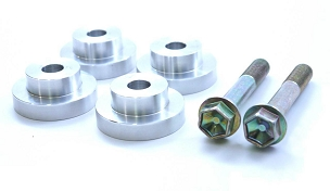 SPL Parts Solid Differential Mount Bushings - S13