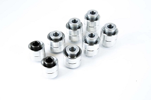 SPL Parts Rear Knuckle Monoball Bushing Set - 350Z