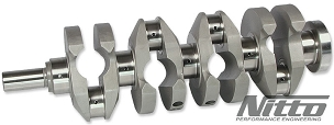 NITTO 4340 Billet Crankshaft - RB26DETT & RB30