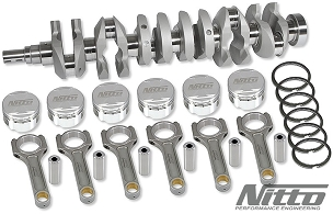 NITTO RB30 to 3.2L Stroker Kit (I-Beam Connecting Rods, Choose Bore)